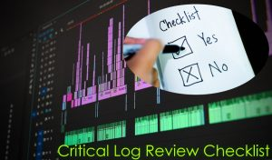 Critical Log Review Checklist for Security Incidents