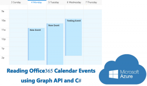 Reading Calendar Events from Office 365 using Graph API and C#