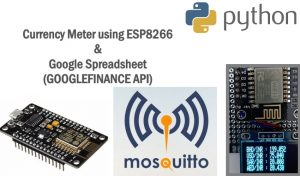 Currency Meter using ESP8266,Google Finance and Secure MQTT